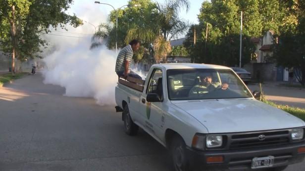 El municipio inicio tareas de fumigación