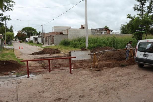 El municipio ejecuta trabajos en distintos sectores de la ciudad