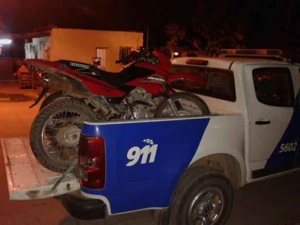 La policia recuperó dos motos robadas en Las Parejas