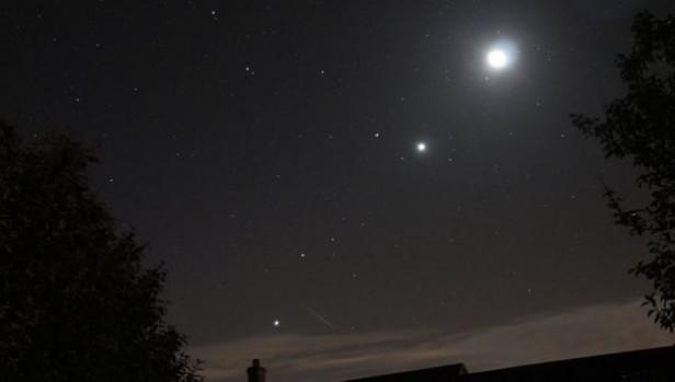 Se podrán ver 5 planetas alineados