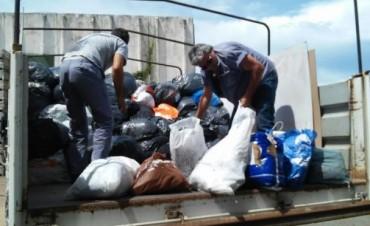 Se realizó la entrega de las donaciones recibidas a los afectados de Concordia