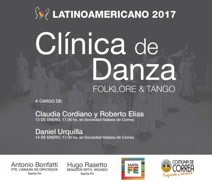 Latinoamericano 2017: En esta quinta edición el Festival Internacional incorpora Clínicas de Danza