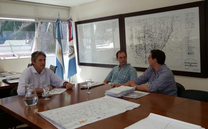 Rasetto se reunió con Garibay por las obras para el departamento Iriondo.