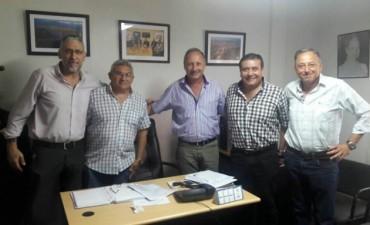 Reunión del Sindicato Luz y Fuerza con el directorio de la EPE