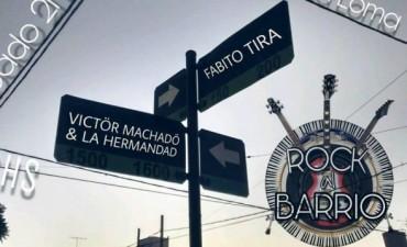 Rock al Barrio sigue parando en las plazas de la ciudad
