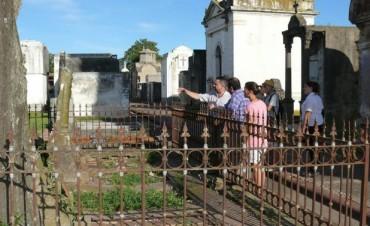 Trabajos en la puesta en valor del Cementerio