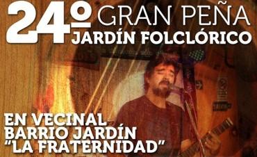 Se viene la 24º edición del Festival Jardín Folklorico