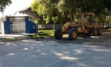El Municipio continúa contrabajos de mejorado en zona Sur