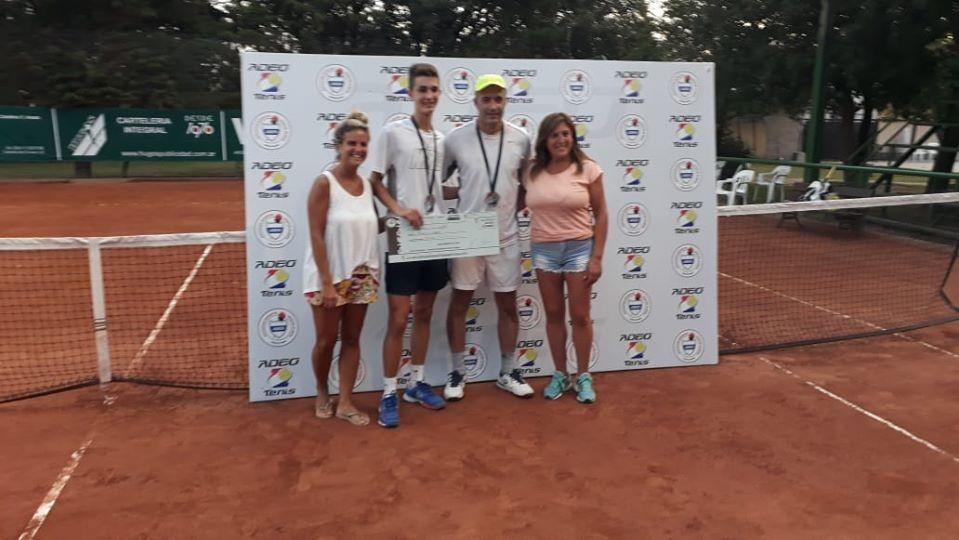 Resultados de la final del Torneo de Tenis