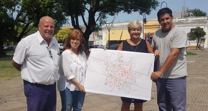 El Municipio invirtió mas de 3 millones de pesos en reposición de luminarias