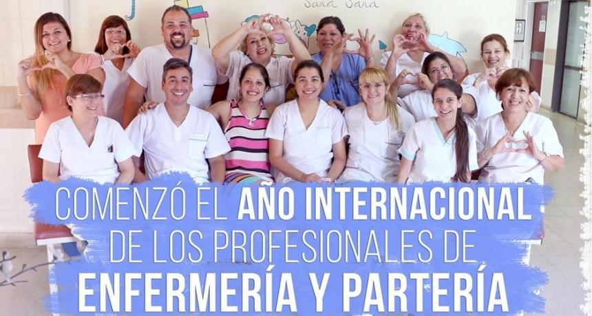 Comenzó el Año Internacional de los profesionales de enfermería y partería