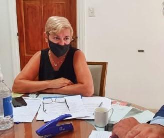 LA INTENDENTA HABLÓ DE OBRAS, GESTIONES Y POLÍTICA