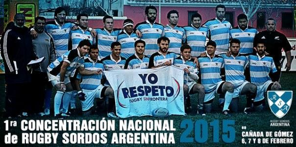 El Seleccionado Nacional de Rugby Sordos Argentinos se concentra en el SUM