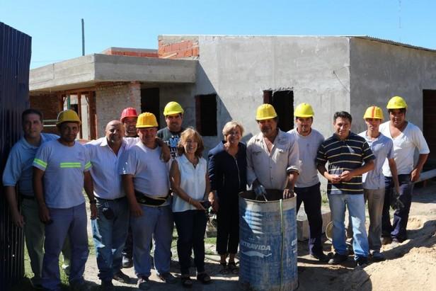Avanza la construcción del Centro Integrador Comunitario