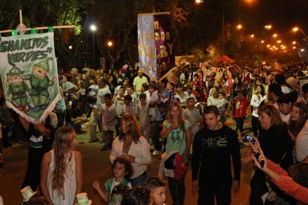 Volvió el Carnaval a Cañada de Gómez