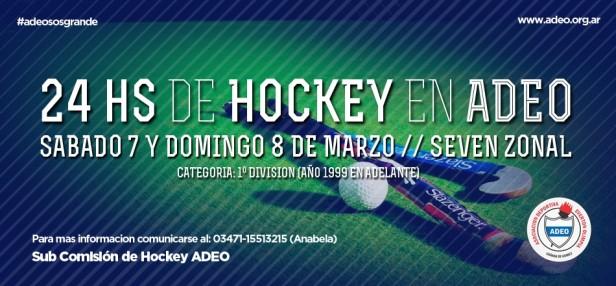 24 hs jugando al Hockey en ADEO