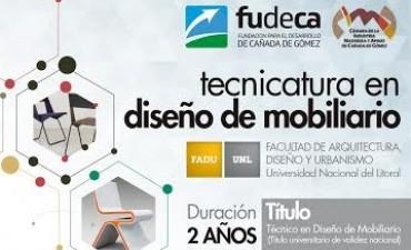 Abierta la inscripción para la Tecnicatura de Diseño de Mobiliario