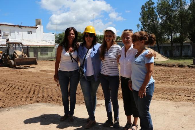 Clérici inició la construcción del primer Jardín Maternal Público en Cañada