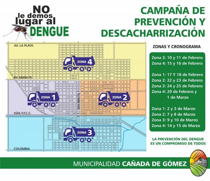 Hoy arranca la campaña de Prevención del Dengue