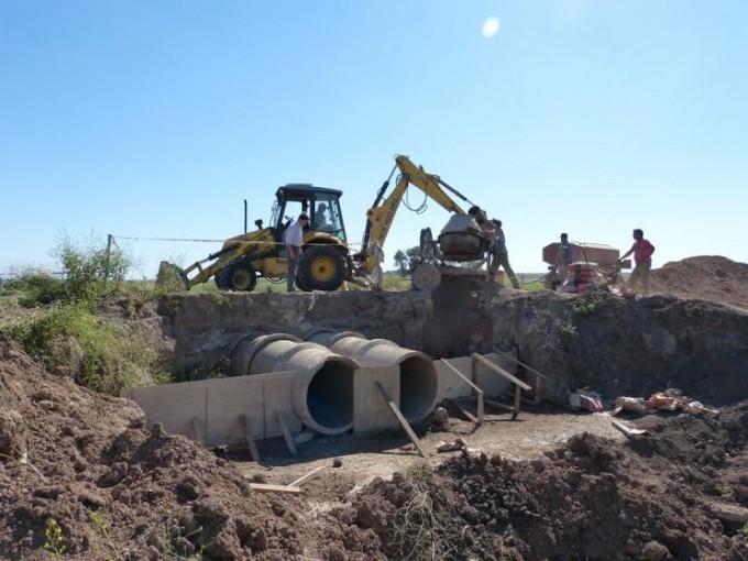 Correa: firma de convenio para obras de bacheo
