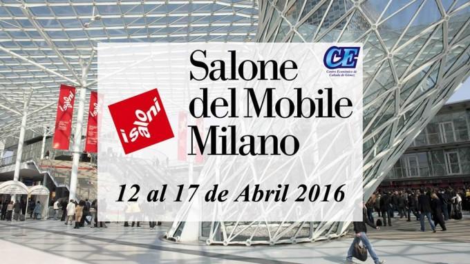 Del 12 al 17 de abril Salón Internacional del Mueble de Milán