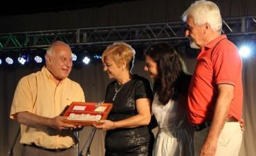 La intendenta recibió al gobernador en Las 3 Lunas