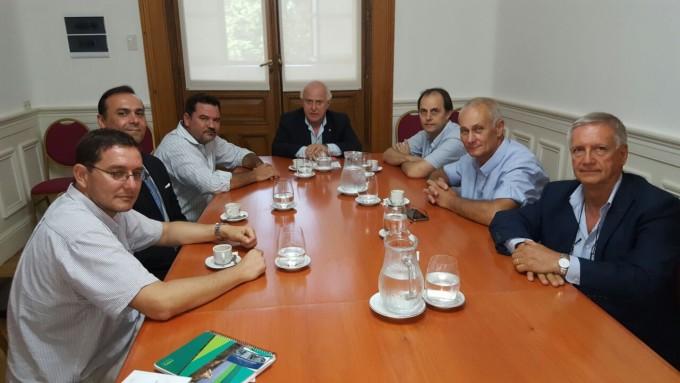 Nueva reunión con el Gobernador por el canal derivador del Rio Carcaraña