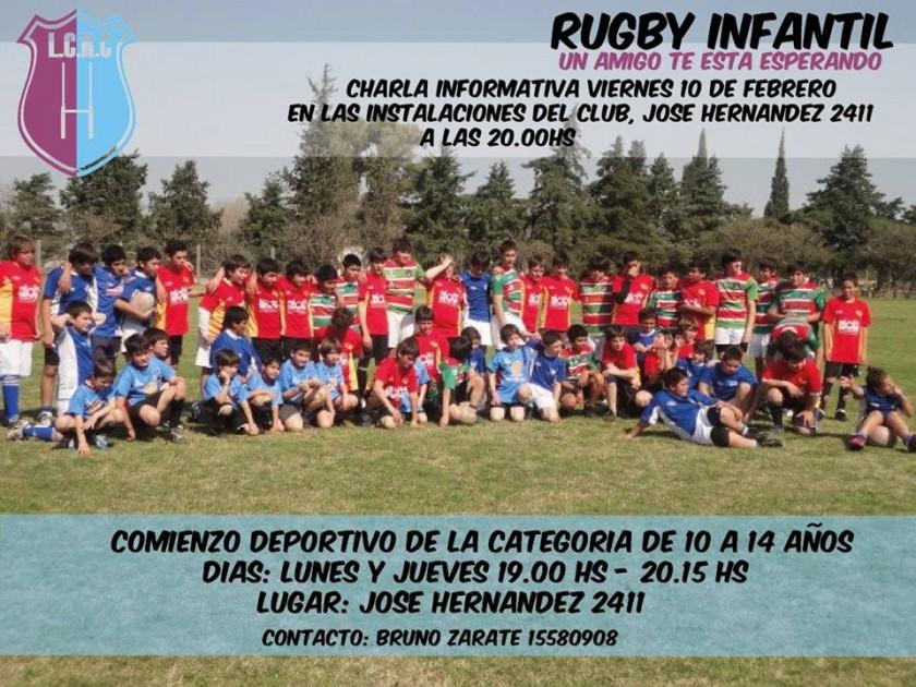 Comienza la actividad para el Rugby Infantil