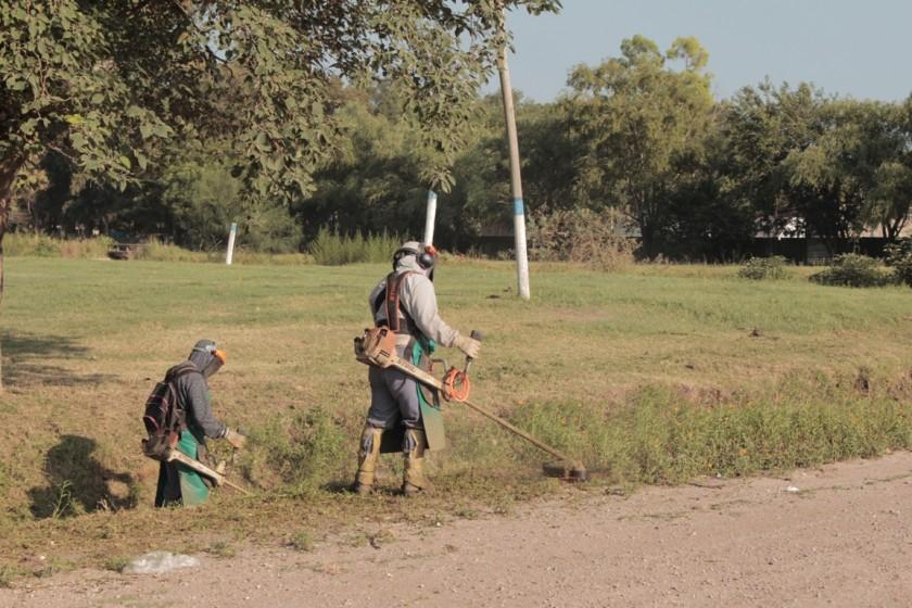 Se intensifican tardeas de mantenimiento de espacios públicos