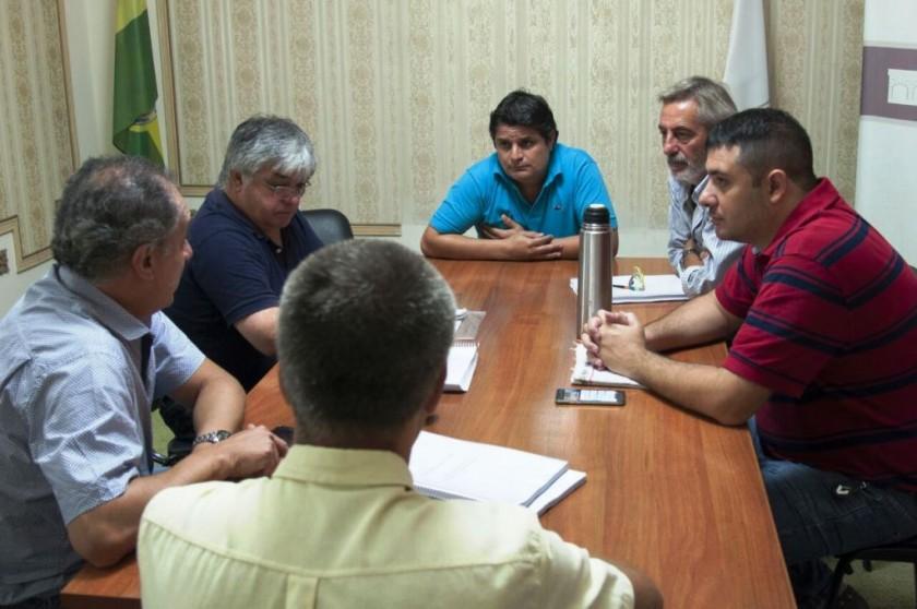 Concejales de la UCR se reunieron con representantes del Colegio de Arquitectos