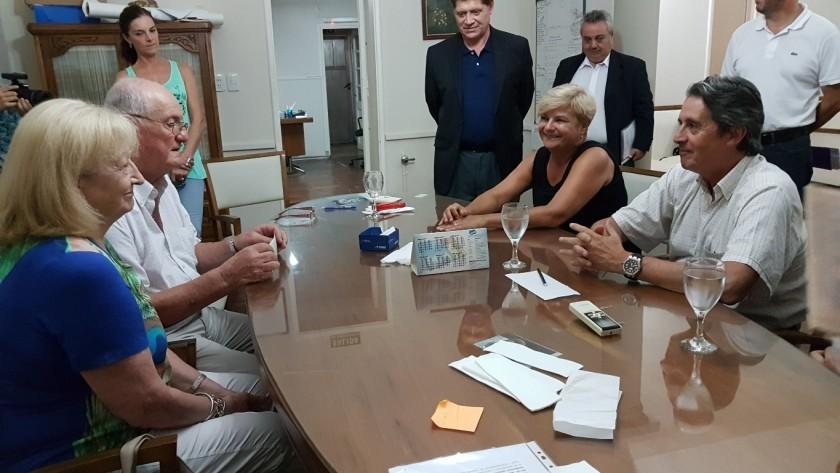 Mosca agradeció por el saldo de la deuda