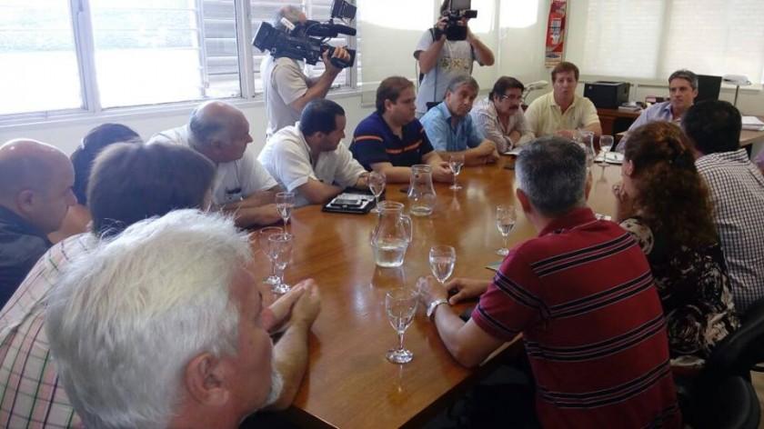 El Municipio participó de reuniones por el servicio interurbano de pasajeros