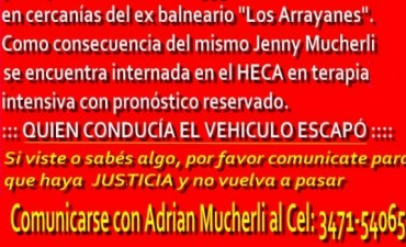 Correa: Mejora la salud de Jenny Mucherli