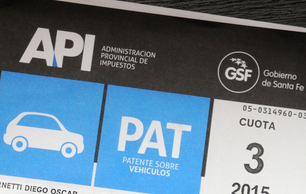 Entrega de Patente Automotor