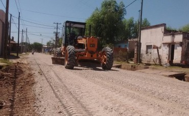 El Municipio realiza mantenimiento de calles