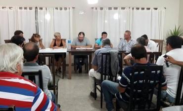 La intendenta Clerici participó de la asamblea del consorcio de Caminos Rurales