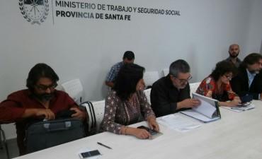 Primera reunión de la paritaria docente en la provincia