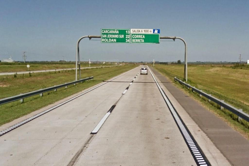 El defensor del Pueblo volvió a pedir acciones ante el mal estado de la autopista Rosario-Córdoba en el tramo Carcarañá-Roldán