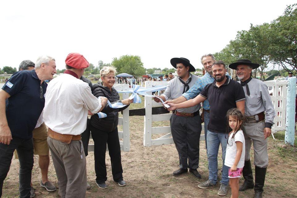 La intendenta participó de la inauguración del predio del centro tradicionalista Alma Gaucha