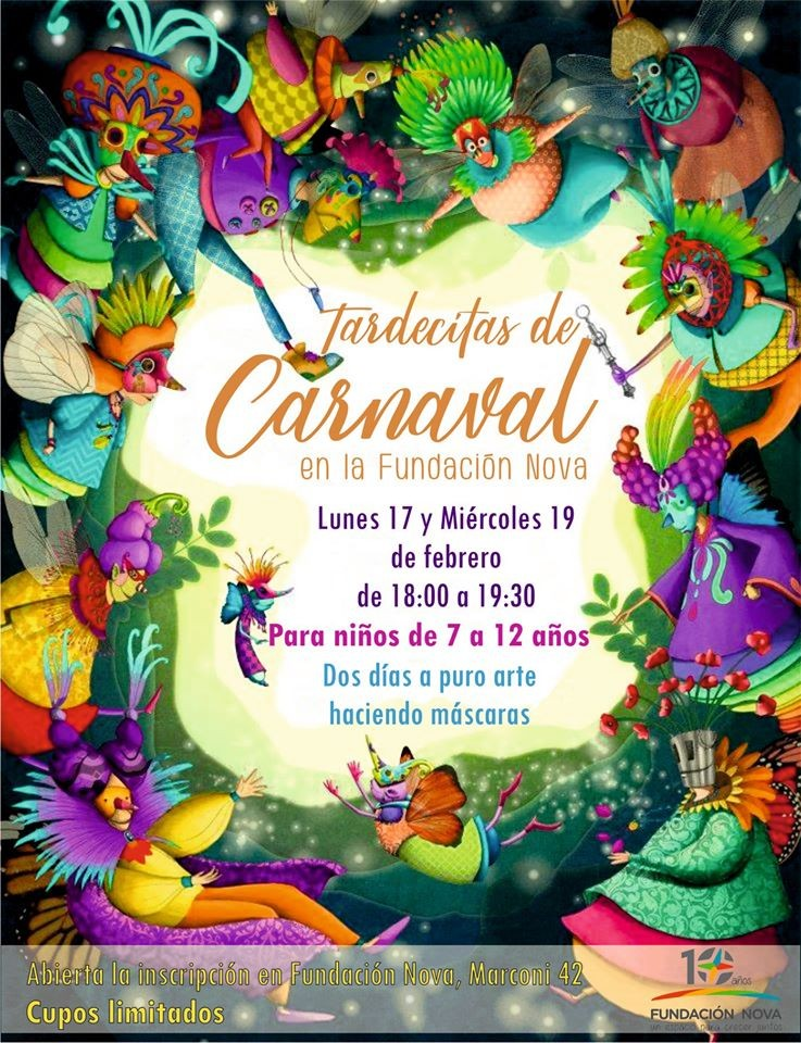 Tardecitas de Carnaval