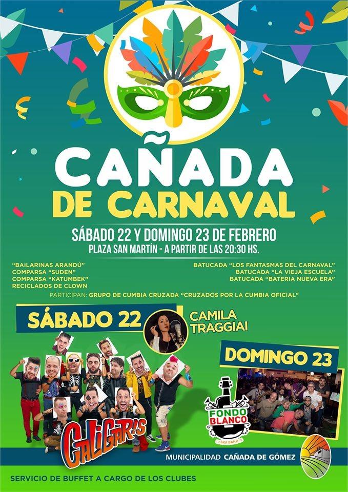 Sábado de Carnaval con Los Caligaris