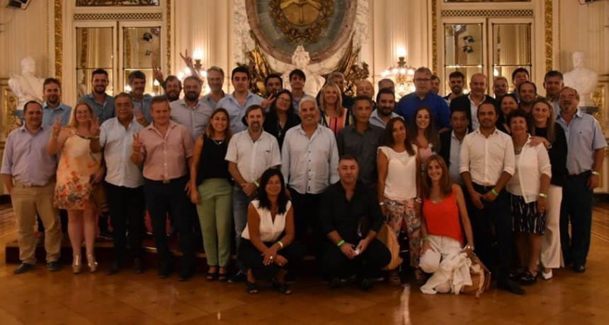 El bloque Justicialista de Cañada de Gómez se reunió con autoridades nacionales