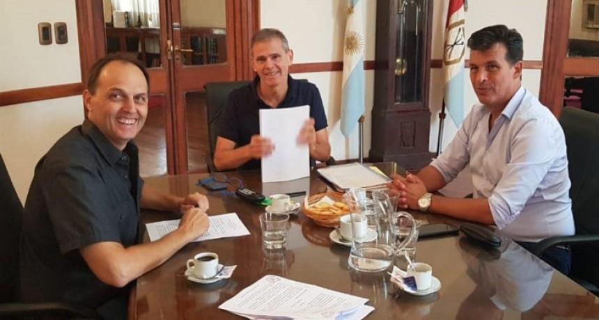 Nuevas reuniones de Rasetto con funcionarios provinciales