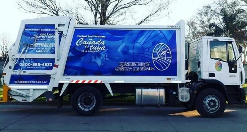 La recolección de residuos se realiza hoy