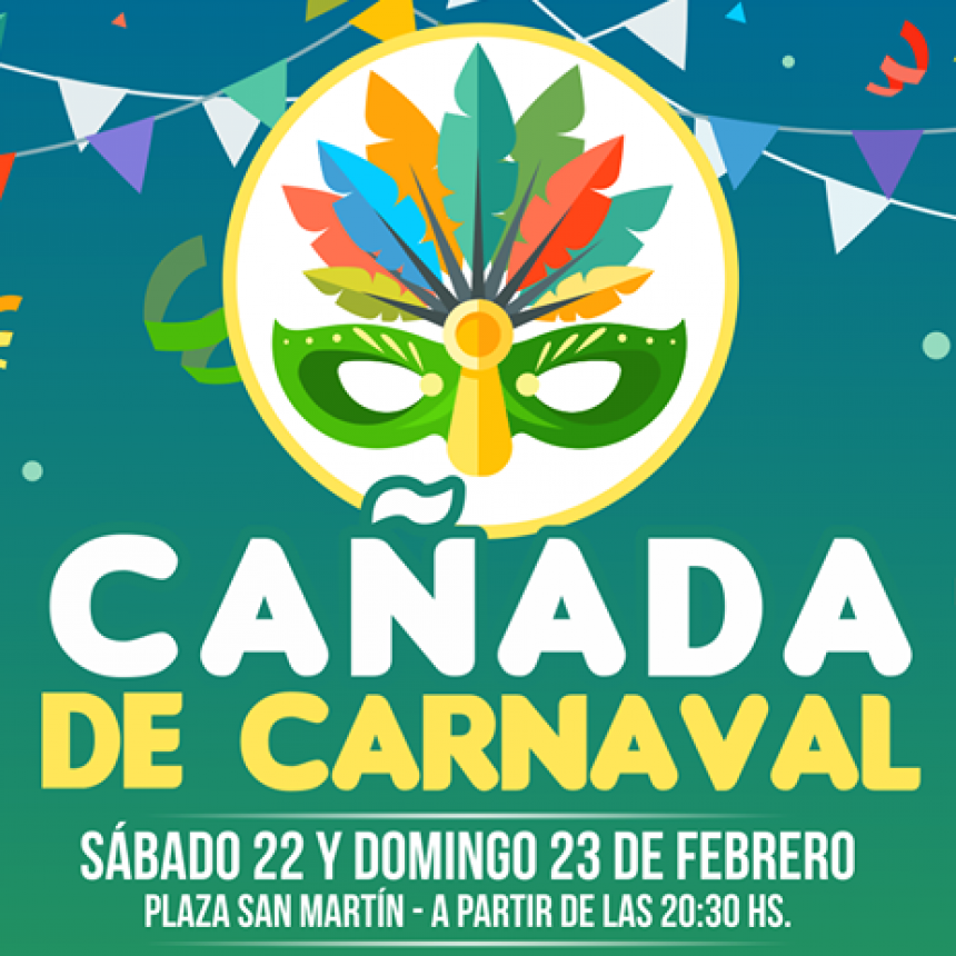 Carnaval con la presencia de Camila Traggiai
