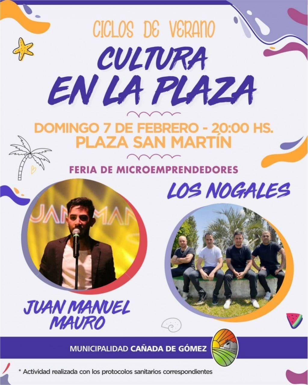 Domingo de música en la Plaza San martín