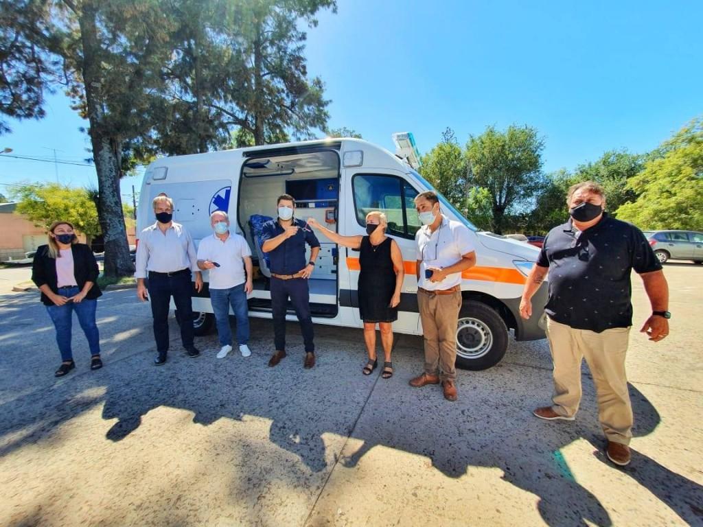 El Hospital San José ya cuenta con la nueva ambulancia 0km totalmente equipada