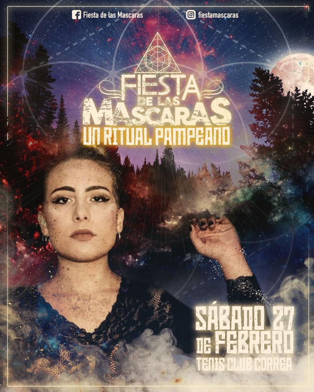 Se viene Fiesta de las Máscaras, Un ritual pamperano