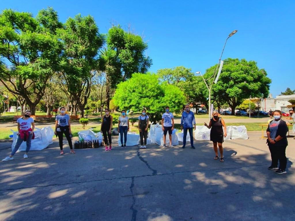 Respaldo del Municipio a la Jornada de Reciclaje impulsada por jóvenes
