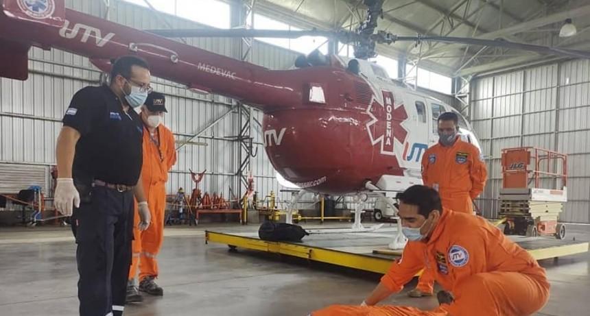 ¿Qué es el servicio de aeroemergencia?
